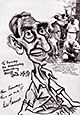 Preview caricature of Bill Barnes