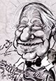 Preview caricature of Geoff Mack