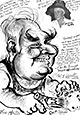 Preview caricature of Milton Golby